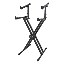 Quik Lok QL742 Keyboard Stand, Black