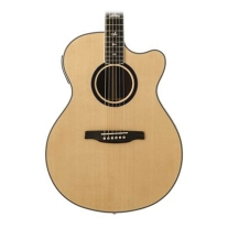 PRS SE Angelus Custom Piezo Acoustic-Electric Guitar in Natural