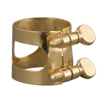 APM 337G Lacquered Brass Full Sized Baritone Saxophone Ligature