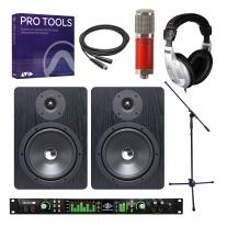 Universal Audio Apollo 8 Quad, Avantone CK6 Classic, NF80 Pair & Pro Tools Bundle