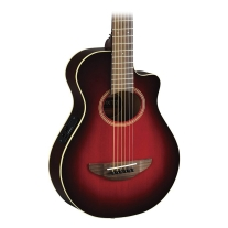 Yamaha APXT2 3/4-Size Thinline Acoustic/Electric Dark Red Burst w/ Bag