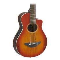 Yamaha APXT2EW 3/4-Size Acoustic-Electric Guitar with Gig Bag, Light Amber Burst