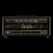 PRS Archon Head In Stealth Charcoal Burst