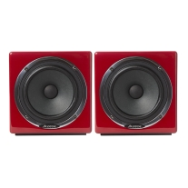 Avantone MixCube Active 10th Anniversary Red Mini Reference Monitors (Pair)