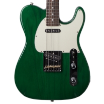G&L ASAT Classic Clear Forest Green Electric Guitar w/ Case