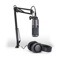 Audio-Technica AT2020USB+PK Podcasting Studio Bundle Standard