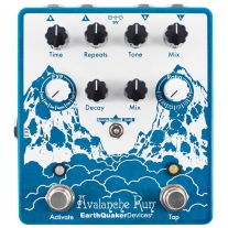 Earthquaker Devices Avalanche Run V2 Stereo Delay and Reverb Pedal