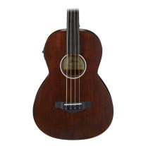 Ibanez AVNB1FE Fretless Acoustic/Electric Bass (Brown Violin Semi-Gloss)