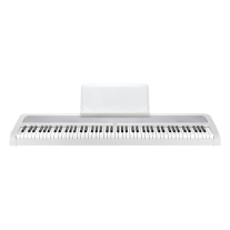 Korg B1WH 88-Key Digital Piano with Enhanced Speaker System - White