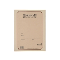 Archives B6S-64 Spiral Bound Manuscript Paper Book, 6 Stave, 64 Pages