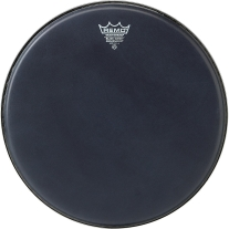 """Remo Ambassador Black Suede(TM) Drumhead, 14"""""""
