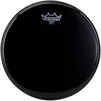 """Remo Ambassador Black Suede(TM) Drumhead, 16"""""""