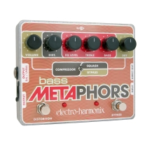 Electro Harmonix Bass Metaphors Compressor Effects Pedal