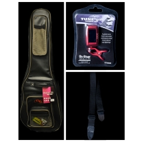 Premium Electric Bass Accessory Bundle