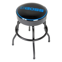 "BOSS Short Barstool with BOSS Logo (24"", Matte Black)"