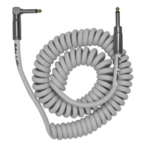 Bullet Cable 15ft Mini Coil Cable, - Straight to Right Angle