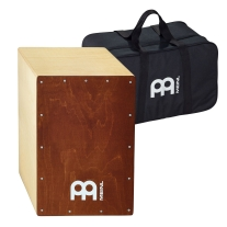 Meinl BC1NTBR Snare Cajon with Saddle Brown Frontplate