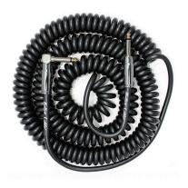 Bullet Cable 30ft Premium Vintage Coil Cable - Black