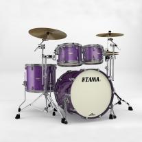 TAMA Starclassic Bubinga 4-Piece Shell Pack Deeper Purple