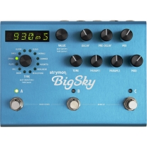 Strymon BigSky Reverberator Reverb Effects Pedal