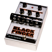 Electro Harmonix Black Finger Tube Compressor Guitar Effects Pedal