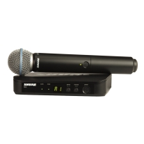 Shure BLX24/B58-H10 Wireless Vocal System with Beta 58A Handheld Microphone, H10