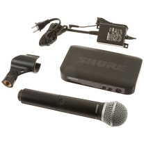 Shure BLX 24PG58 Handheld Wireless Mic System with PG58 Band H10