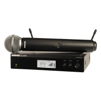 Shure BLX24R Handheld Wireless System with SM58 Mic - J10