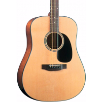 Blueridge BR40 Contemporary Series Dreadnought Guitar - Natural