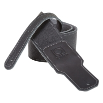 "BOSS BSL-25-BLK Leather Instrument Strap, (2.5"" Width, Black)"