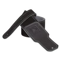 BOSS BSS-25-BLK Suede Instrument Strap (Black)