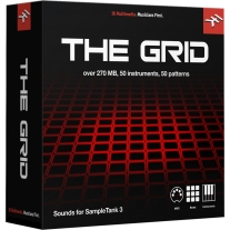 IK Multimedia SampleTank 3 - The Grid Library