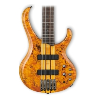 Ibanez BTB775PB 5-String Bass Guitar in Amber