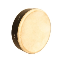 Roosebeck BTN4B Inside Tunable Bodhran with Single Removable Bar, 14x3.5