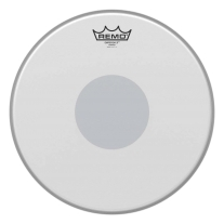 """Remo Emperor X Coated Snare Drumhead - Bottom Black Dot, 13"""""""