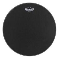 """Remo Emperor X Black Suede Snare Drumhead - Bottom Black Dot, 14"""""""