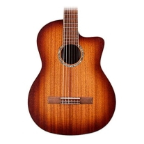 Cordoba C4-CE - Edgeburst, Solid Mahogany Top - Nylon String Guitar