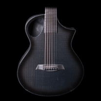 Composite Acoustics Cargo with Electronics In Carbon Burst with Gig Bag