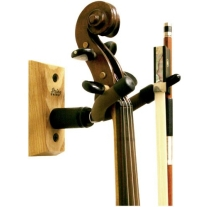 STRING SWING CC01V HARDWOOD VIOLIN HANGER IN OAK