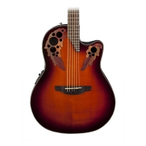 Ovation CE441 Celebrity Elite Mid Depth Acoustic Electric Guitar, Sunburst