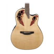Ovation CE44 Celebrity Elite Mid Depth Acoustic Electric Guitar in Natural
