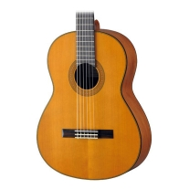 Yamaha CG122MCH Solid Cedar Top Natural Classical Acoustic Guitar