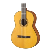 Yamaha CG122MSH Solid Englemann Top Natural Classical Guitar
