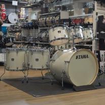 Tama Superstar Classic 7-Piece Drum Set in Satin Antique Pearl Lacquer Finish
