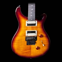PRS SE Custom 24 Floyd Rose Tobacco Sunburst Electric Guitar
