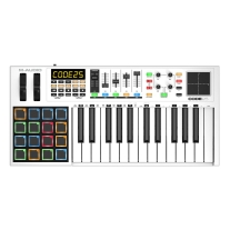 M-Audio Code 25 | 25-Key USB MIDI Keyboard Controller with X/Y Touch Pad