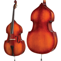 Howard Core Model A40 1/2 Upright Bass Outfit