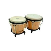 Latin Percussion CP221AW CP Bongos in Natural Finish
