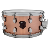 SJC Drums Armada 7x14 Copper Shell Snare Drum with Chrome Hardware