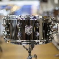 SJC 6.5x14 Black Nickel Over Steel Snare Drum